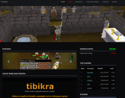 Tibikra - OSRS based private server!