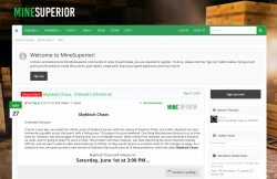 MineSuperior mc server
