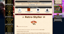 Retro-styller - Tibia server! Brazilian!