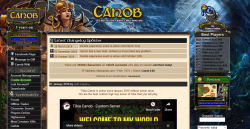 Tibia server Canob. US tibia server!